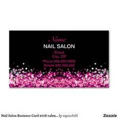 nails business cards nail technician manicurist pink glitter business