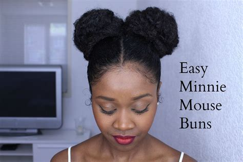 mice summer hair cuts easy minnie mouse buns on natural hair protective