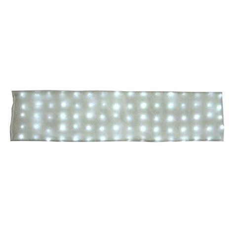 deluxe large 80 led lighted snow blanket 60 x 15 with 8