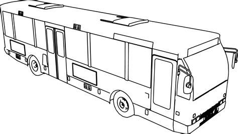 bus coloring page pdf bus coloring pages