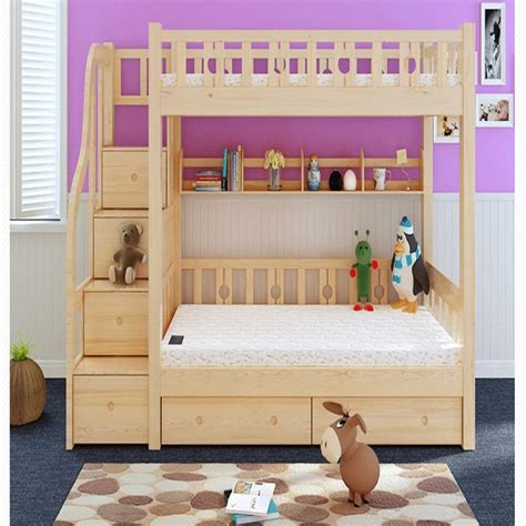 childrens bunk bed storage cabinets cheap wood bed bed princess bed ladder picture