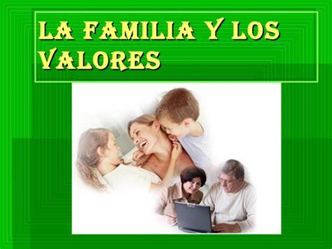 imagenes que representan valores familiares la familia y los valores