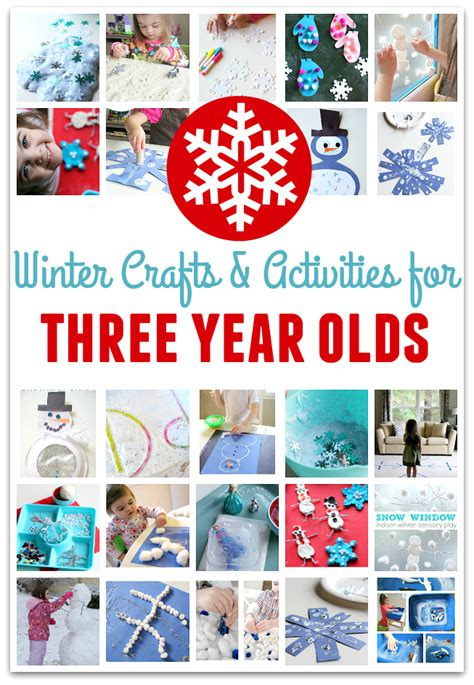 craft projects for 3 year olds 22 winter crafts for three year olds no time for flash cards