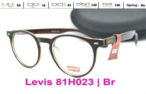 Kacamata Minus Frame Minus Kacamata Levis Frame Levis Premium 17 jual kacamata frame levis 81lh023 pria wanita bulat baca minus nabila optick