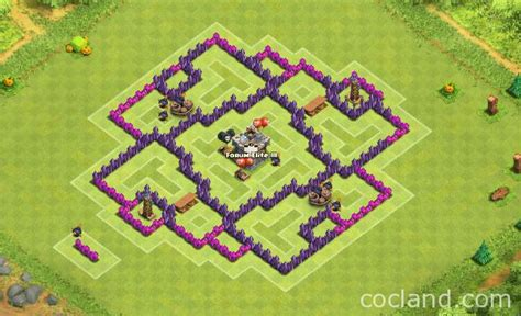 layout for town hall 7 quadweisz de farming layout for town hall 7 clash of
