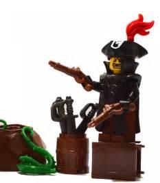 Lego Original Pirate Gun custom lego gun highlight flintlock pistol brickwarriors
