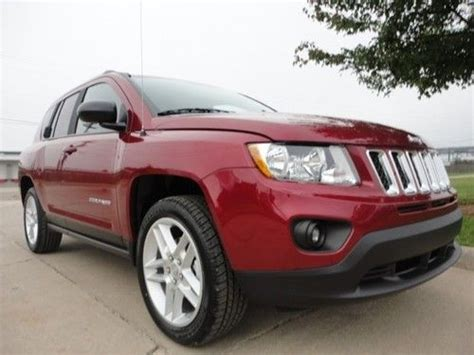 jeep compass limited sunroof sell 2013 jeep compass limited leather sunroof