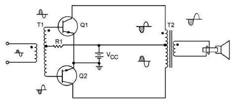 single transistor headphone lifier push pull lifiers