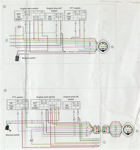 yamaha 703 remote outboard wiring diagram yamaha