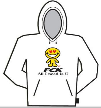 Sweatshirt Fck fck all i need is u hoodie