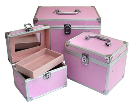 Vanity Box Salon by Lockable Aluminium Make Up Vanity Box Cosmetic