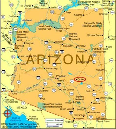 globe az maps arizona sweet home historic globe arizona