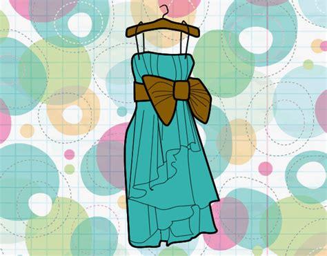 imagenes para colorear de xv años dibujo de vestido xv a 241 os pintado por barbie005 en dibujos