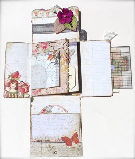 albunes pinterest with a grin scrapbooking pin spin mini album in a box