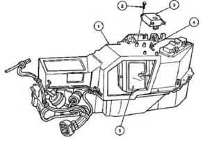 2005 jeep grand heater blend door diagram 2005