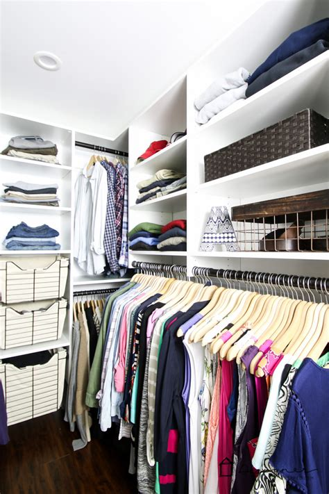 Easy Closets Installation by Before After Complete Diy Closet System Design