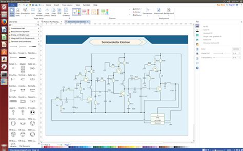 linux schematic software electrical drawing linux