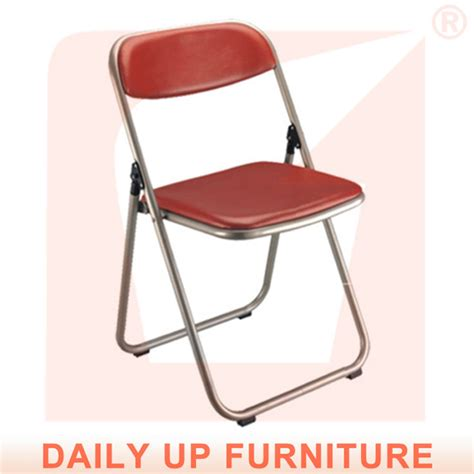 folding chairs padded seat and back used metal folding chairs office reception chair