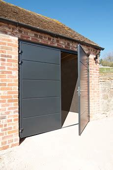 Insulating Garage Door Sides by Insulated Steel Side Hinged Garage Doors The Garage Door