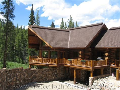 handcrafted log homes images