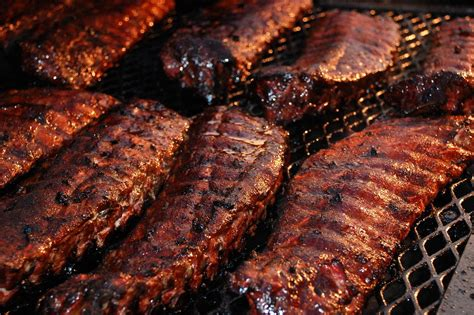 Rack Of Rub by Perry S Roadside Bbq And Catering In Sarasota Florida