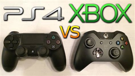 console wars ps4 vs xbox one controllers playstation enthusiast