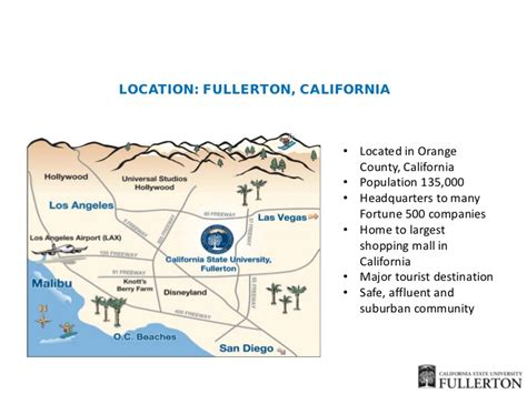 Mba In California State Fullerton by California State Fullerton