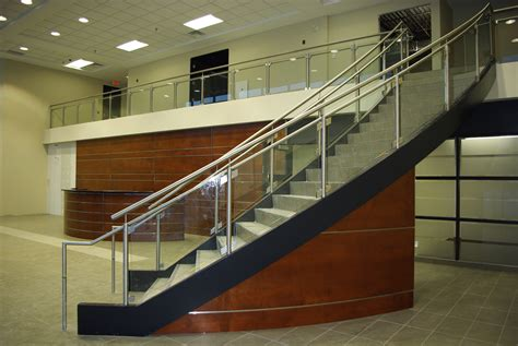 Glass Stair Banisters And Railings by Glass Railings Balconies And Stairs Ottawa Centennial Glass