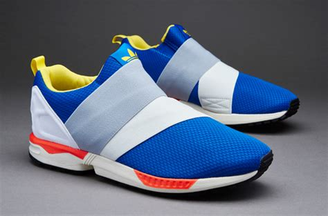 Harga Adidas Zx Flux Slip On sepatu sneaker adidas zx flux slip white yellow blue