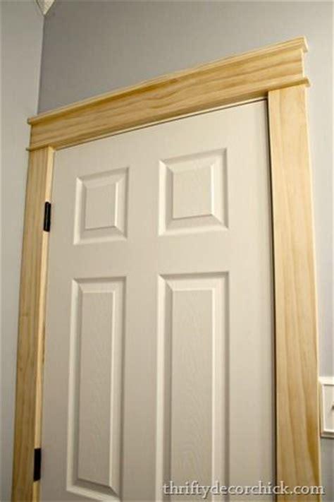 Trim Around Doors by Diy Trim Around A Door Sawdust