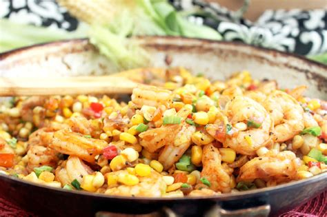corn fryer creole fried corn with shrimp cajun week day 1 creole contessa