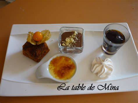 caf 233 gourmand la table de mina