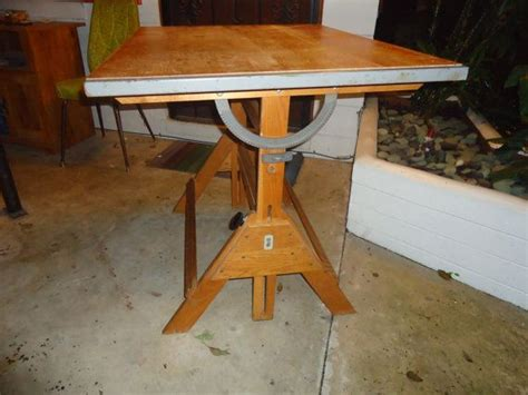 Anco Bilt Drafting Table Vintage Anco Bilt Drafting Table Mid Century Modern Architecture Indu
