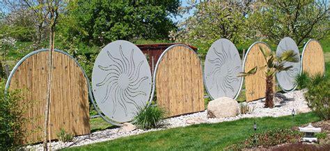 Garten Sichtschutzwand by Bild Kunsthandwerk Metall Garten Design Juergen M Bei Kunstnet