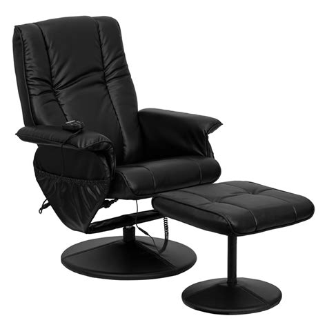 black leather recliner with ottoman what is the best recliner and ottoman
