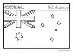 Pics For Gt Printable Flag Of Australia Australian Flag Colouring Page Printable