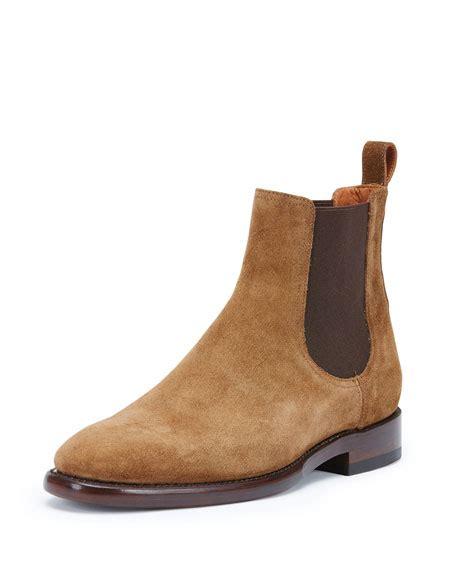 Suede Chelsea Boots frye weston suede chelsea boot chestnut