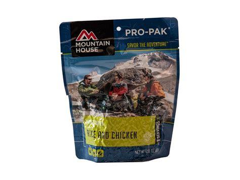 mountain house pro pak mountain house pro pak vacuum sealed rice chicken mpn 0050105