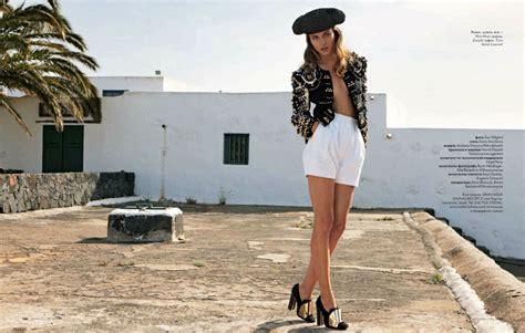 spanish style clothes andreea diaconu models spanish style in asa tallgard s