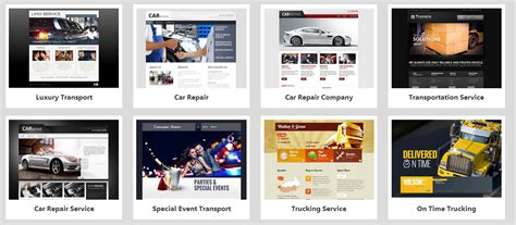 godaddy templates godaddy website templates template design