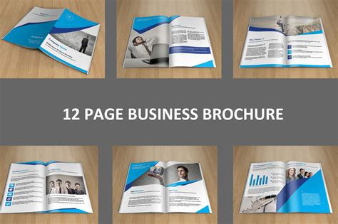 indesign business brochure v128 brochure templates on
