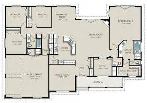 Bedroom Apartment House Kitchen Floor Plans Cool Four