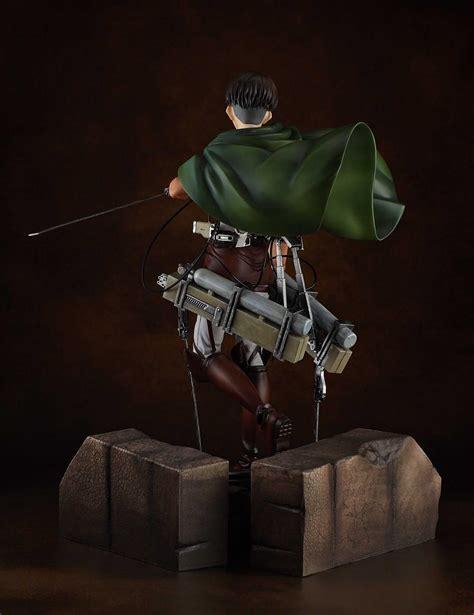 Figure Anime Pvc Attack On Titan attack on titan levi 1 7 pvc figure