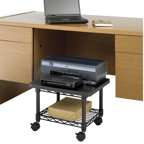 standing desk under 100 under desk printer fax stand safco products