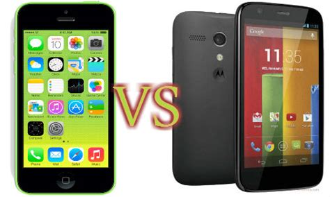 apple iphone 5c vs motorola moto g all about existence dominance and success gizbot