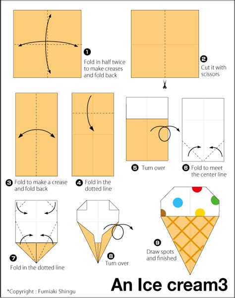 Origami Chicken Easy - 3 craft ideas origami