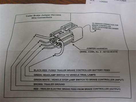 brake controller wiring adapter    toyota tacoma