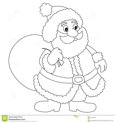 Colouring Outine Of Santas Sleigh Search Results Easy Coloring Pages Santa