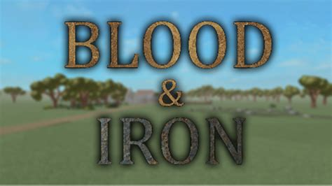 Iron In Blood blood iron roblox