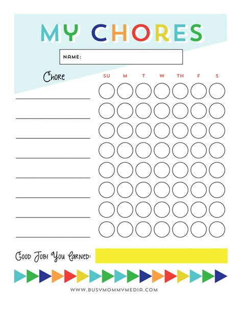 Get Your Kids Excited About Chores With A Help Wanted Board Picture Chore Chart Template